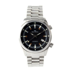 Seagull Dual Time Display Luminous Hands St2130 Movement Automatic Men's Watch