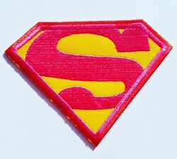 Supergirl Movie Iron On Patch Sew On Embroidered Patch T Shirt Jacket Patch
