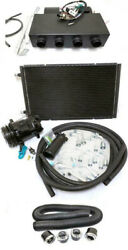 Universal Underdash Air Conditioning Heat Cool Evaporator Ac Kit W/ Hoses Vents