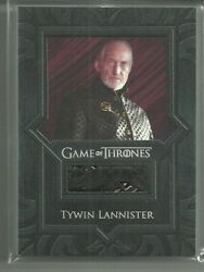 Rittenhouse Game Of Thrones Valyrian Steel Vr5 Tywin Lannister Jacket Relic Card