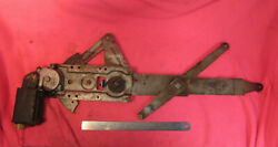 1973-77 A-body Chevelle Right Side Power Window Regulator And Motor - Tested Monte
