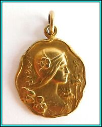 1910 Argentina - Florida Street Corso - Carnival Medal - Gold Plated