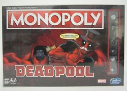 New Deadpool Marvel Special Collectors Edition Hasbro Monopoly Board Game Sealed