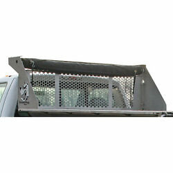 Dumperdogg/buyers Products 5534010 Stainless Steel Cab Guard For Dump Inserts