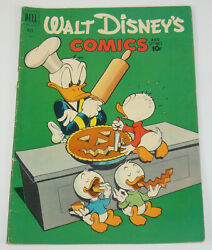 Walt Disney#x27;s Comics and Stories #134 VG 1st appearance of the beagle boys 1951