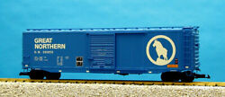 Usa Trains G Scale 50 Ft Single Door Box Car R19305a Great Northern - Blue