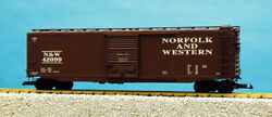 Usa Trains G Scale 50 Ft Single Door Box Car R19316a Norfolk And Western - Tuscan