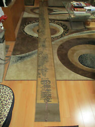 Antique Vintage 14.5and039 Long Suzhou China Chinese Hand Painted Scroll Great Wall
