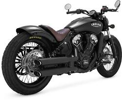 Vance And Hines Twin Slash Slip-ons For Indian 48623