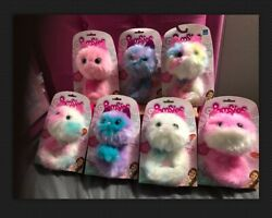 """""""original""""pomsies Set Of 7 Patches,sherbert,blossom,snowball,pinky,speckleandboots"""