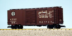 Usa Trains G Scale 8 Ft. Youngstown Dr Ps1 Box Car R19226c Santa Fe - Mineral Br