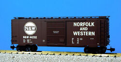 Usa Trains G Scale 8 Ft. Youngstown Dr Ps1 Box Car R19216c Norfolk And Western - T