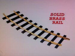 Usa Trains 81900 G Scale 20 Ft Diameter Track Solid Brass Rail One Case 8 Pc