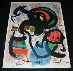 Miro A Signed Limited Edition (See Park West of Appraisal)