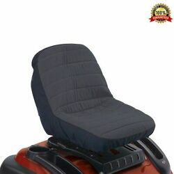 Cub Cadet Universal Lawn Mower Craftsman New Garden Tractor Cushioned Seat Cover