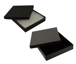 Plain Card Square Necklace Sets Earrings Jewellery Boxes Display Gift Box