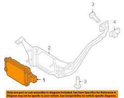 FORD OEM Cruise Control-Vehicle Speed Sensor BE9Z9E731B