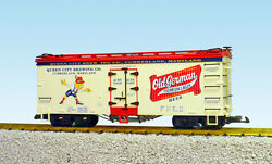 Usa Trains G Scale U.s. Reefer Car R16440 Old German Beer – Cream/red