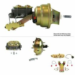 1964-72 Chevy Chevelle Fw Mount Pwr 11 Dual Brake Booster Kit Disc/drum