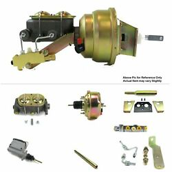 1960-62 Chevy Truck Manual Trans Fw Mount Power 7 Single Booster Kit Disc/disc