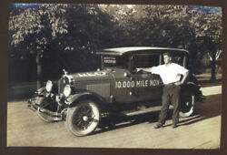 Real Photo Reo Automobile Car Advertising Postcard Copy Cars
