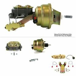 1964-72 Chevy Chevelle Fw Mount Pwr 7 Dual Brake Booster Kit Disc/drum Stop