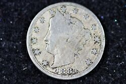 Estate Find 1884 - W/cents Liberty Head V Nickel H9263