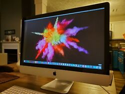 iMac 27in Core i7 500GB SSD 16GB RAMGraphic Design Apps
