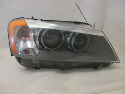 2011 - 2014 BMW X3 Right Passenger Xenon Head Lamp w/ Adaptive Light Control OEM
