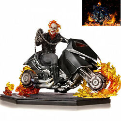 Iron Studios 1/10 Ghost Rider Motorcycle Figure Limited Edition Model Statue