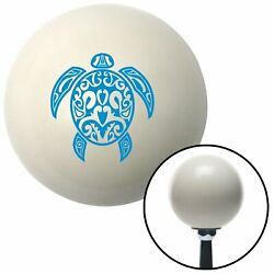 Blue Giant Turtle Ivory Shift Knob With 16mm X 1.5 Insert Auto 351 Mg Tc