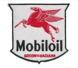 Mobiloil Socony-vacuum Patch - Quality Americana- Rrp Andpound8 - Free Delivery