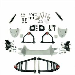 Mustang Ii 2 Ifs Front End Kit For 1958 - 1964 Impala W 2 In Drop Spindles