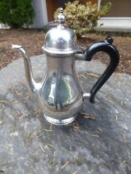 And Co. Sterling Silver Queen Anne Line Coffee Pot - Date Mark 1907-1945