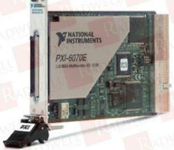 National Instruments Pxi-6070e / Pxi6070e Used Tested Cleaned