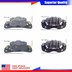 For 2000 4pcs Brake Caliper Ford Excursion Limited Front Rear