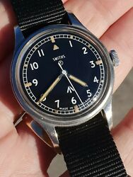 Military Issued Smiths W10 Watch circa 1968