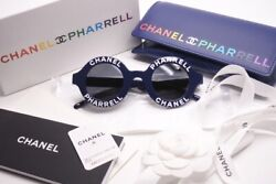 CHANEL PHARRELL CHANEL FARRELL SUNGLASSES CAPSULE COLLECTION 19SS ROUND SUNGLASS