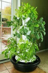 Foody 12 Hydroponic Tower - Grow Up To 44 Plants