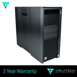Build Your Own Hp Z840 Workstation 2x E5-2620v4 8 Core 2.10 Ghz Win10 Pro