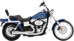 Bassani Chrome Road Rage 2-1 Short Exhaust System For 91-05 Harley Dyna Fxd Fxdb