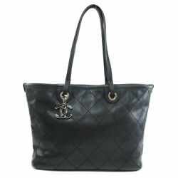 CHANEL   Tote Bag COCO Mark stitch design Caviar skin