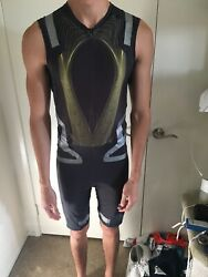 Adidas Unisuit Track And Field Running Powerweb Techfit Singlet Mens Male Large