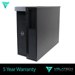 Dell T7920 Workstation 16gb Silver 4109t 1tb And 240gb K2200