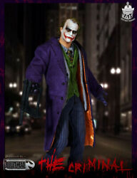 Bullet Head 1/12 The Joker Action Figure Model In Box Collection In Stock