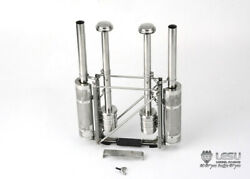 All Tractor Stainless Steel Exhaust Stack 1/14 Tamiya Lesu Gw-k024 Globe Liner