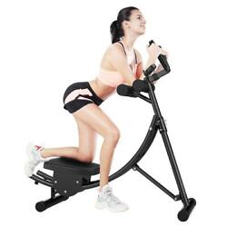 Ab Coaster Abdominal Trainer Fitness Machine Gym Home Body Shaper Exercise USA