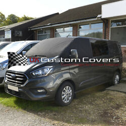 Ford Transit Custom 2013 On Deluxe Windscreen Screen Frost Wrap Cover 316 Black