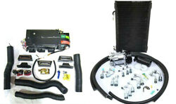 Gearhead Ac A/c Heat Defrost Mini Air Conditioning Kit W/ Fittings Hoses Vents