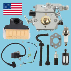 Carburetor Ignition Coil Air Filter Carb For Stihl 025 Ms210 Ms230 Ms250